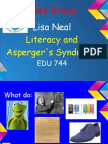 Edu744 Asperger's and Literacy
