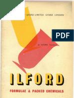 Ilford Formulae Dev 1953