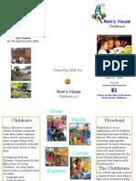Tri-Fold Brochure 2013