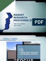 BA170 Market Research II