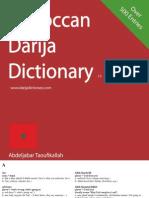 Moroccan Darija Dictionary v1.0