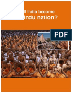 Will India Become a Hindu Nation