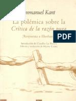58520636-La-polemica-sobre-la-«Critica-de-la-razon-pura»
