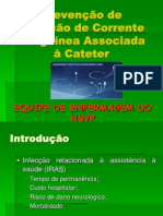 Infecção-Cateter Central.ppt