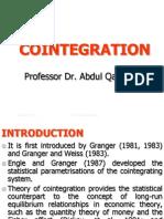 Cointegration Eg