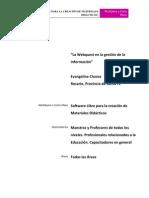 Webquest Software Libre Para Crear Materiales Didacticos