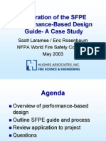 SFPE Performance Design Case Study