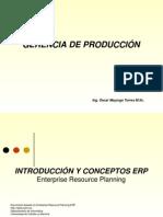 ERP - UNAD Gerencia de Produccion