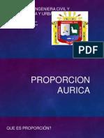 PROPORCION AURICA