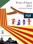 Programa Festes d'Agost 2013