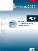 The Main Features of a German Strategy Towards Russia