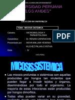MICOSIS  SISTEMICA