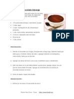 Mousse de Chocolate Amargo