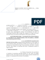 AÇÃO PREVIDENCIÁRIA CONCESSÃO DE AUXILIO DOENÇA cc CONVERSÂO EM APOSENTADORIA POR INVALIDEZ cc PEDIDO DE ANTECIPAÇÃO DE TUTELA