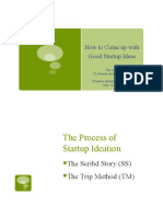 How to Come up with Good Ideas for Startups - the Scribd Story and the Trip Method
