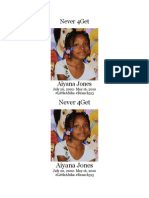 Never 4Get Aiyana Jones