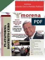Plataforma Distrito Cero Octubre 15