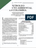 Artículo Petróleo y Ambiente