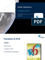 Transition to IPv6