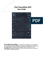 HoRNet ChannelStrip User Guide