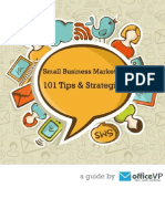 Small Business Marketing 101 Tips and Strategies