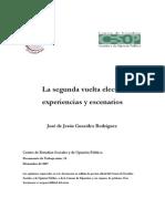Segundavuelta,experienciasyescenarios-JosedeJesusGonzalezRodriguez