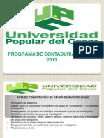GRUPO DE INVESTIGACIÓN - Propuesta