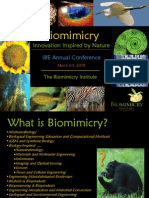 IBE - Biomimicry Lecture