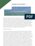 An Extraordinary Story from Derawan