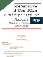 Mabini CLUP 2003-2012