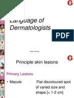 Language of Dermatology