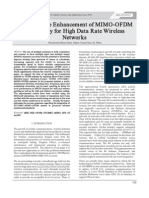 Per formance Enhancement of MIMO-OFDM