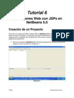 Tutorial 6 - Aplicaciones Web Con JSPs en NetBeans 5