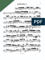 Sonata Bwv 1001 de Bach