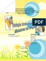 Trabajo Patologias Del Lenguaje