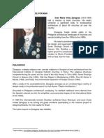 JOSE ZARAGOZA Written Report