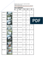 Catalog of Bathtubs
