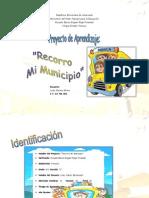 Proyecto de Aprendizaje Recorro Mi Municipio