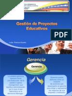 Gestión de Proyectos Educativos