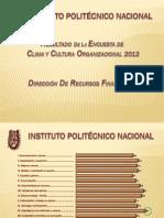 Encuesta de Clima y Cultura Organizacional 2012
