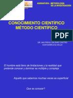 TME01 - Conocimiento Científico - Método Científico