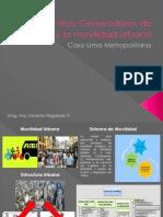 Centros Generadores de Viajes y La Movilidad Urbana
