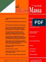 Jurnal Komunikasi Massa Vol 2 No 2 Tahun 2009