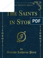 The Saints in Story