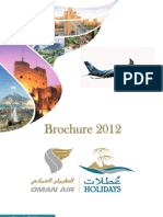 Oman Air Holidays Brochure