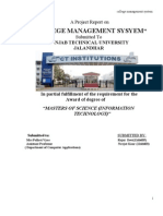 A PROJECT REPORT ON College Management System docx