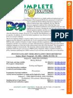 MSHA Regulation EZcompliance