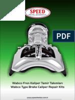 Wabco Brake Caliper Repair Kits