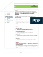 CV sample entry level