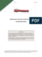 Alarm & Remote Start Installation Guide